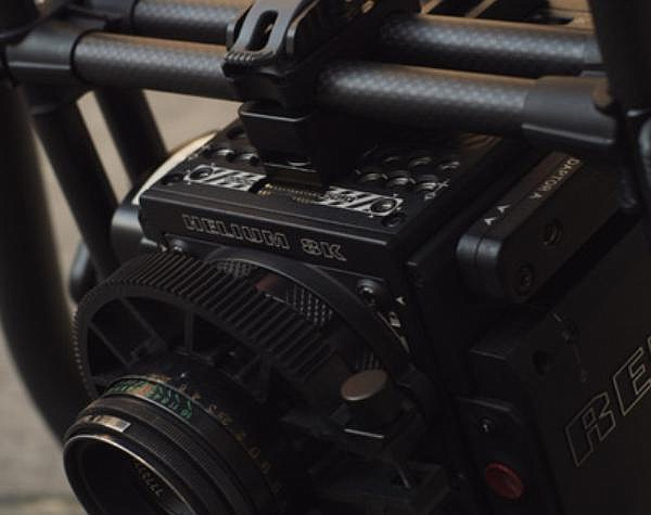 A Red 8k Helium camera with a monochrome sensor was used to shoot 'Mank'