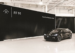 The FF 91 is scheduled to launch in 2022.