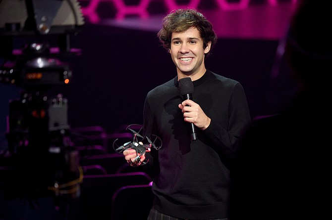 David Dobrik has parted ways with the company he founded.