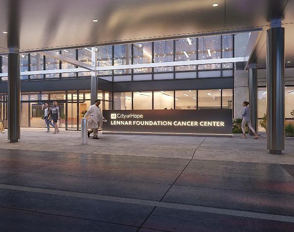 Rendering of comprehensive cancer center