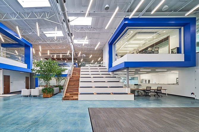 Inovio Pharmaceuticals' San Diego office. The project was completed on a 18-week schedule by Burger Construction. Photo courtesy of Burger Construction.