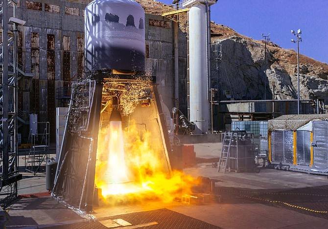 ABL performed tests on its RS1 launch vehicle in October.