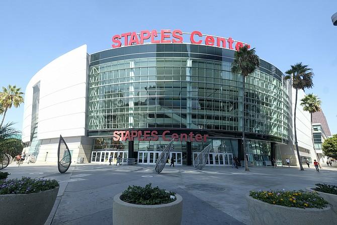 Staples Center. (Photo by Ringo Chiu).