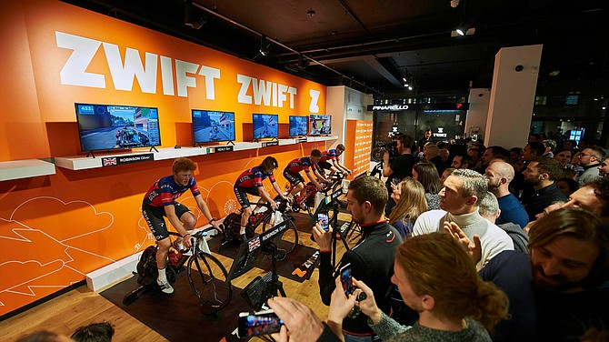Zwift is expanding into esports.