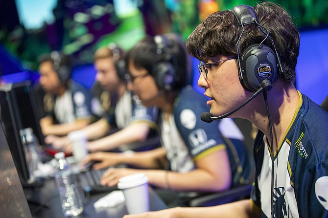 Team Liquid competes in Riot's League Championship Series.