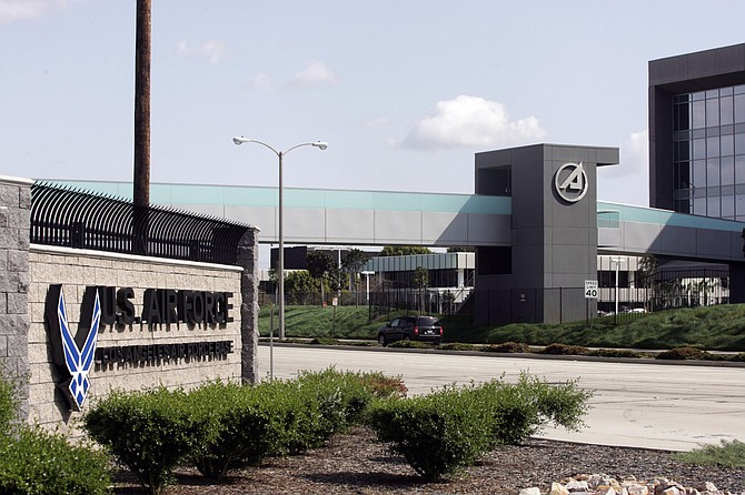 The Space and Missile Systems Center at the Los Angeles Air Force Base in El Segundo.