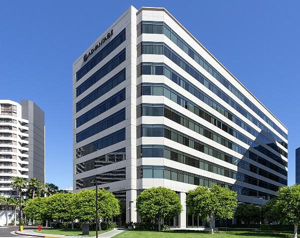 Current HQ at 10-story Irvine Towers building near JWA
