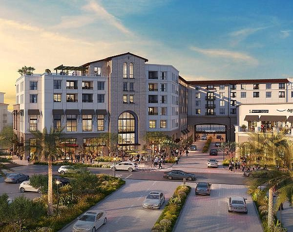 Rendering of planned housing project at Bella Terra