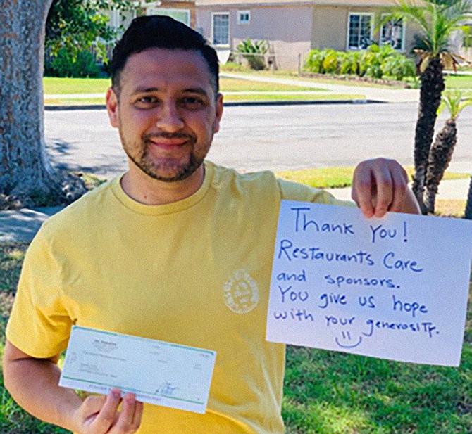 SDG&E has donated $200,000 to the California Restaurant Association Foundation to help restaurant workers. Photo courtesy of California Restaurant Association Foundation.