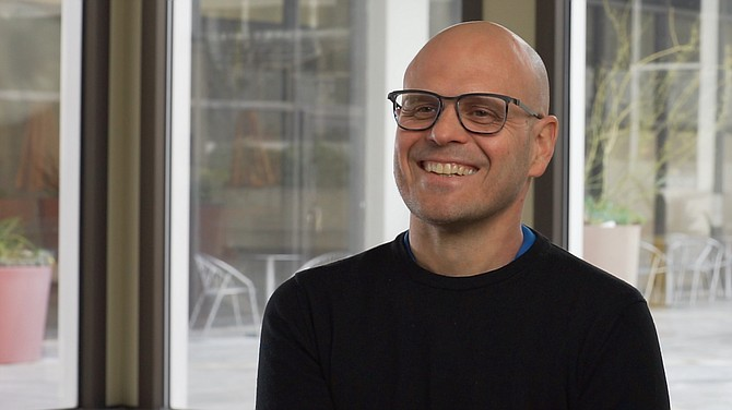 Virtualitics CEO Michael Amori.