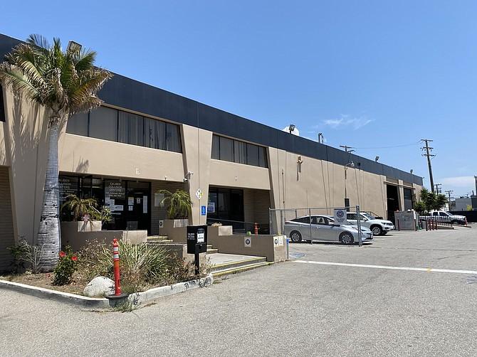 Tesla's new offices in Santa Monica.