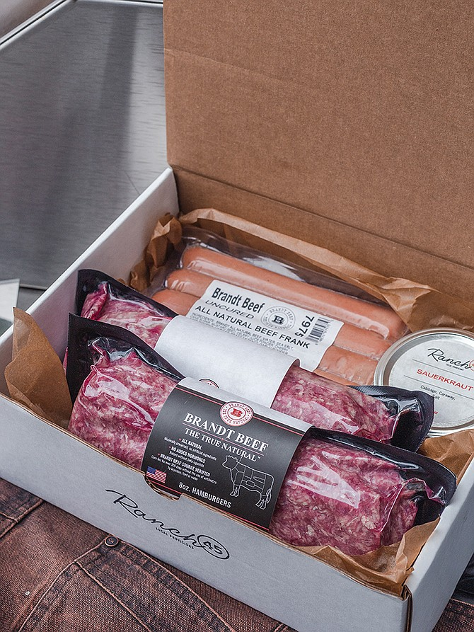 Ranch 45, founded in 2018 and located in Solana Beach, has seen 25% growth in revenue from meal kit sales during COVID-19. Photo Courtesy of Ranch 45.