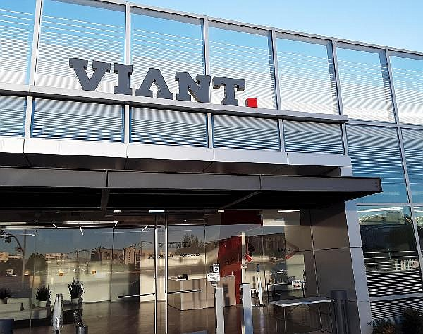 Viant HQ at the corner of Michelson and Jamboree in Irvine