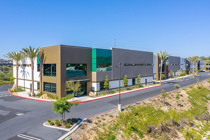 Azzur Group is developing clean rooms for lease in a Vista industrial building. Photo courtesy of CoStar.
