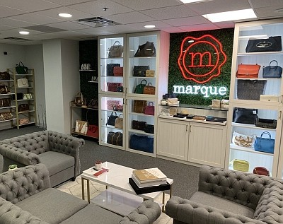 A Marque Luxury showroom