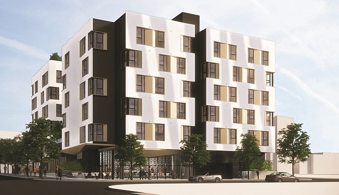 The development at 1410 Highland Ave. will hold 180 fully-furnished micro units.