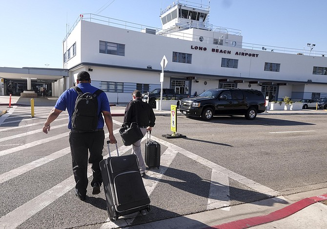 Passenger traffic at Long Beach Airport skyrocketed 123% between February and March.