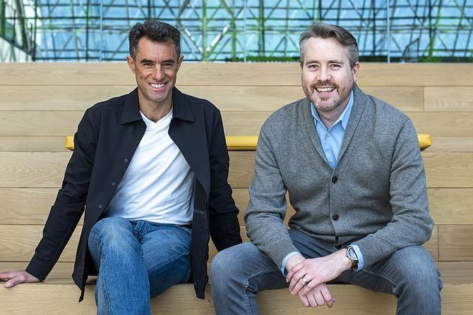 CreatorPlus founders Jonathan Shambroom and Ben Grubbs.