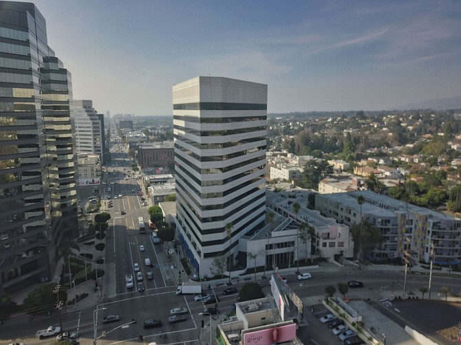 Legion Partners' headquarters at 12121 Wilshire Blvd. in Brentwood.