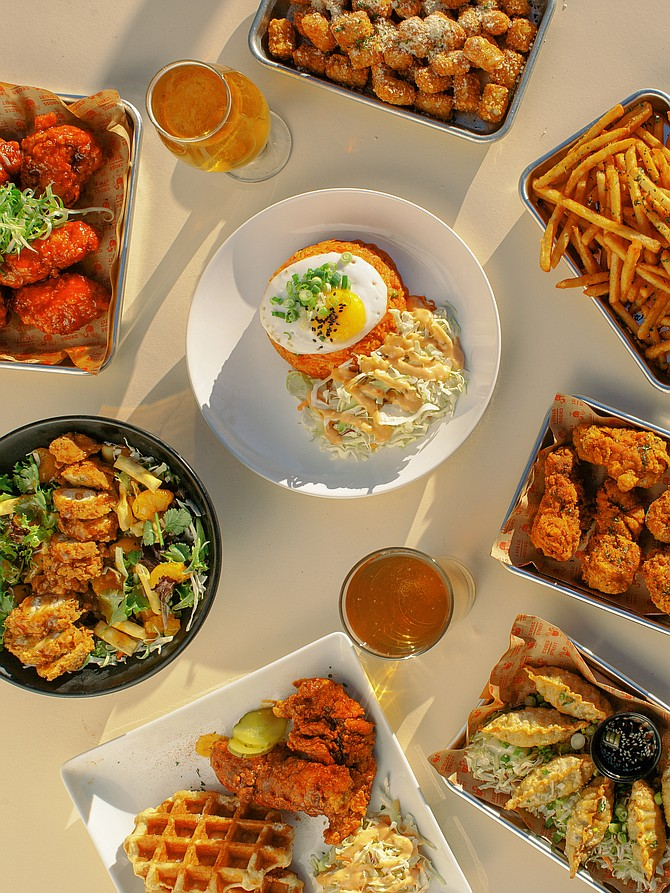 Cross Street Chicken and Beer, located in Kearny Mesa and founded in 2017, expects to double its revenue by 2022. Photo Courtesy of Cross Street Chicken and Beer.
