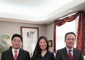 Peter D. Chu, Founder and Owner, Lillian Chu and Hai G. Huynh specialize in immigration law with the Law Offices of Peter D. Chu. Photo courtesy of Law Offices of Peter D. Chu.