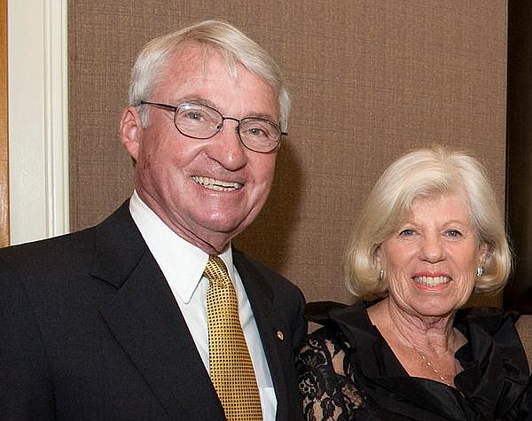 David Chonette, former president of Edwards Lifesciences, and his wife, Suzanne