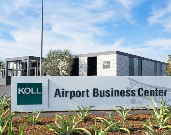 Koll's Airport Business Center office complex near John Wayne Airport Firm has increasingly boosted industrial holdings outside of OC