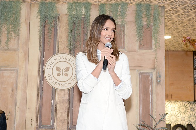 Jessica Alba helped take Honest Co. public in May.