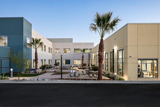Palomar Health has built a 52-bed rehabilitation center on the campus of Palomar Medical Center in Escondido. Photo courtesy of Palomar Health.