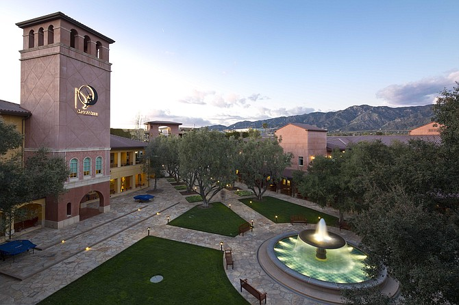 DreamWorks campus at 1000 Flower St. in Glendale.