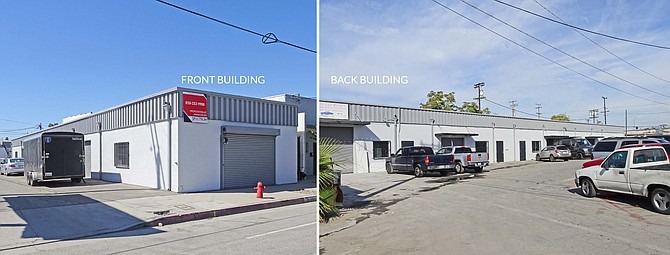 Warehouse at 7129-7133 Vineland Ave. in North Hollywood.