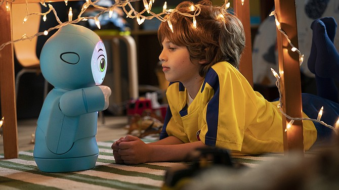 Moxie robots use AI to hold conversations with children.