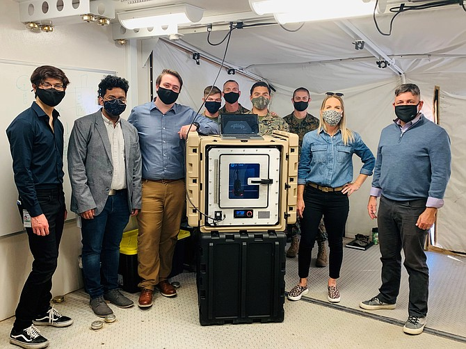 Accelerator participant Craitor Inc. is developing a portable 3D printing system.