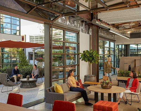 Innovation Office Park: newest Irvine Co. project promotes indoor/outdoor space uses