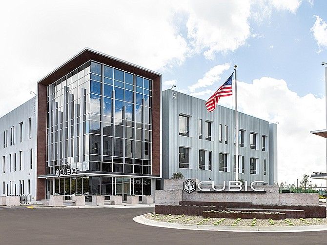Cubic's new headquarters totals 415,000 square feet. Photo courtesy of Cisterra Development.