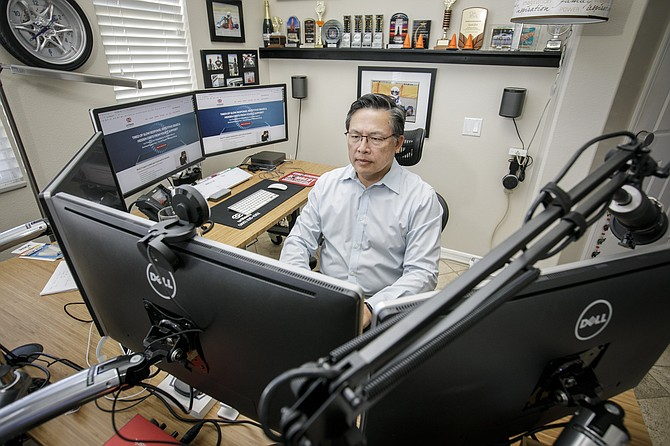 Tech Desk: Stephen Yeoh in Thousand Oaks.