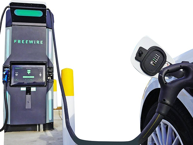 Last week, FreeWire Technologies, a pioneer of flexible charging solutions, began deploying a new type of battery-integrated fast charger in partnership with the San Pasqual Economic Development Corporation. Photo Courtesy of Freewire Technologies.