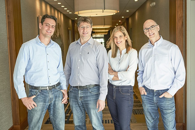 (From left) Sunbit co-founders Arad Levertov, Tal Riesenfeld, Ornit Dweck-Maizel and Tamir Hazan