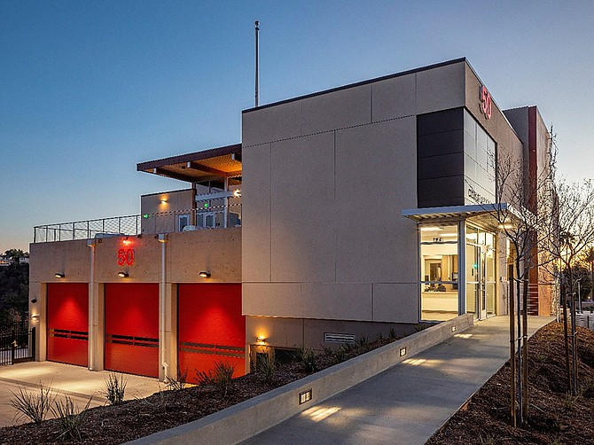 Fire Station 50 in UTC is among Naveen Waney's favorite projects. Photo courtesy of Pablo Mason.