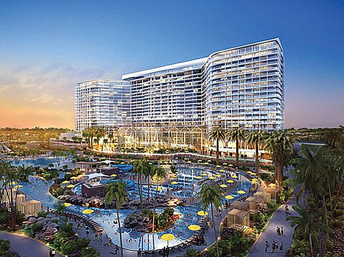 The $1 billion Chula Vista Bayfront project is expected to be a catalyst for further development in South County. Rendering courtesy of the Port of San Diego.
