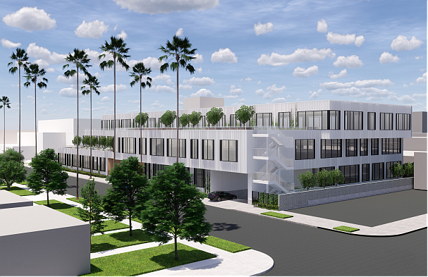 A creative office development in West Adams spearheaded by Luzzatto Co. has received $54.7 million in construction financing. The Depot is a planned 1.5-acre office campus with a roughly 107,000-square-foot building featuring high ceilings and 30-foot tall bays.
