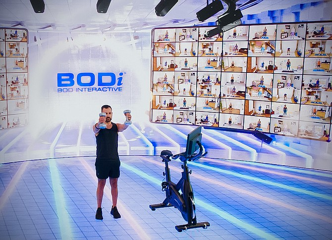 """Beachbody operates several at-home fitness platforms, including Beachbody on Demand, branded """"BOD,"""" and Openfit, which sell subscriptions to online fitness classes, as well as the recently launched BODi live interactive workout service."""