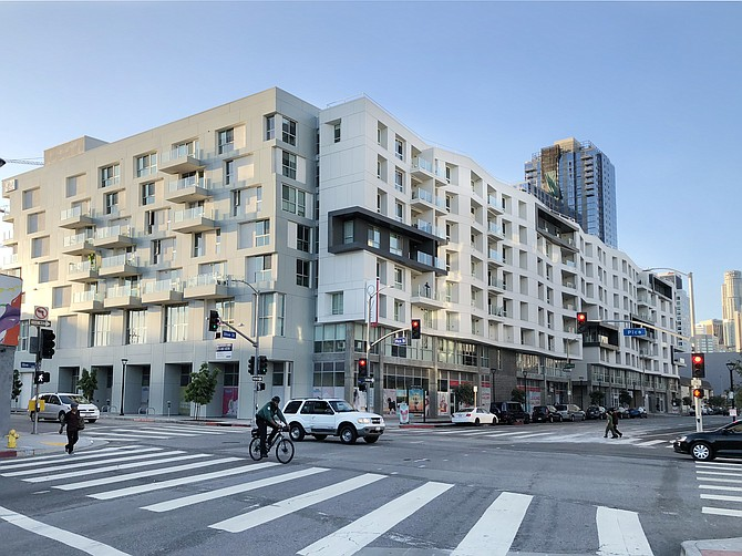 The 293-unit Olive DTLA changed hands in January for $121 million.