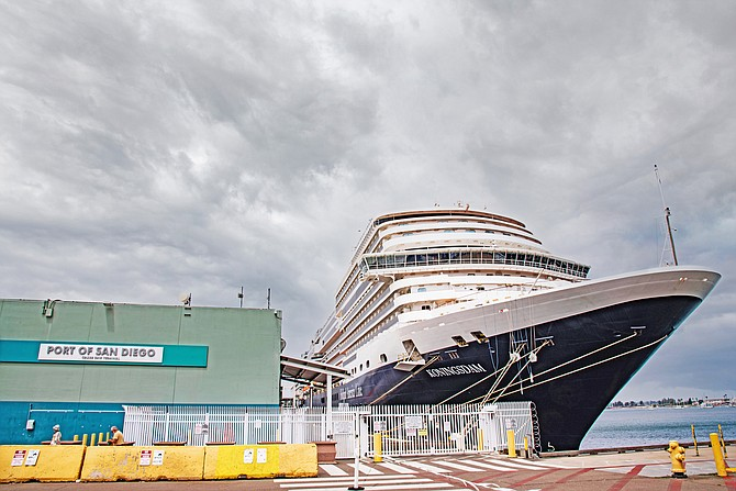 The Port of San Diego anticipates the cruise industry will resume as soon as this fall. So far, 450 crew members have been vaccinated in San Diego. Photo courtesy of Port of San Diego.