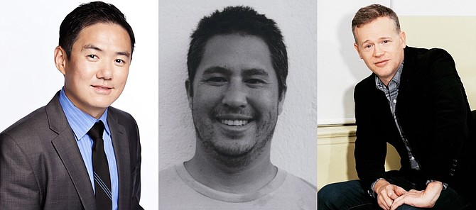 OneOf Founders, From Left: Lin Dai, Adam Fell, Joshua James