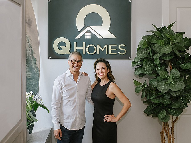 Lily Quan and her husband, Kingsley, own Q Homes real estate agency in Carlsbad. Photo courtesy of Lily Quan.