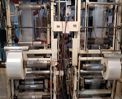 Sole Source Capital's Dallas Plastics polyethylene film making factory in Texas.