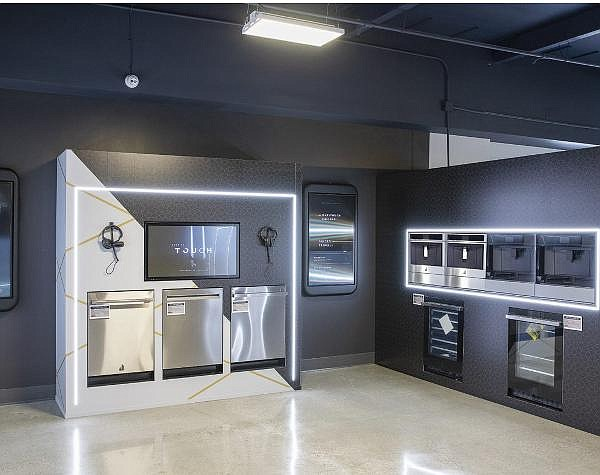 Live demonstration space, web-enabled smart appliances a focus of revamped Howard's
