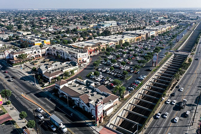 The La Alameda Shopping Center secured a new 10-year loan.