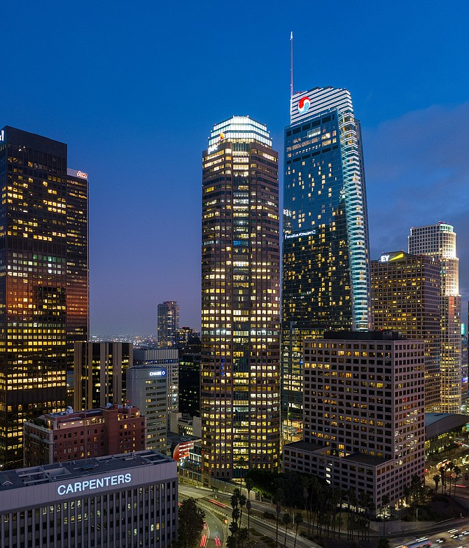 Avison Young is moving to Figueroa at Wilshire rather than renovate its offices.  - PGTK RE AY 0607 t670 - Avison Young Plans Move to Hybrid Office Space